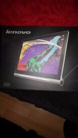 13 inch lenovo tablet with projector built in