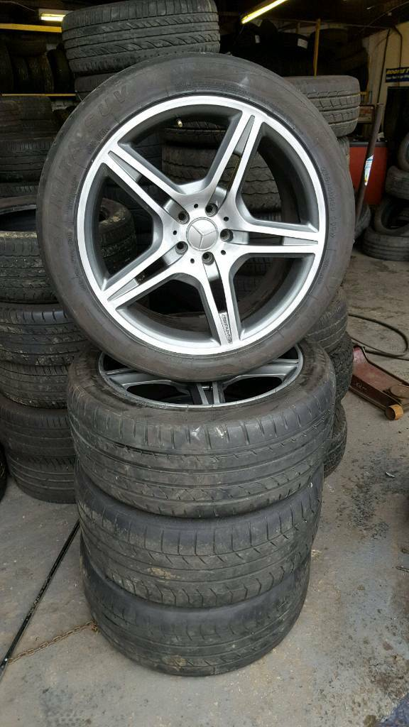 Mercedes amg 20 inch alloys and tyres