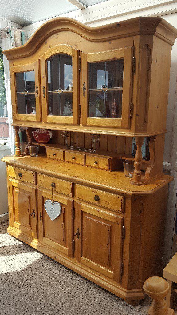Pine Dresser Welsh Display Cabinet