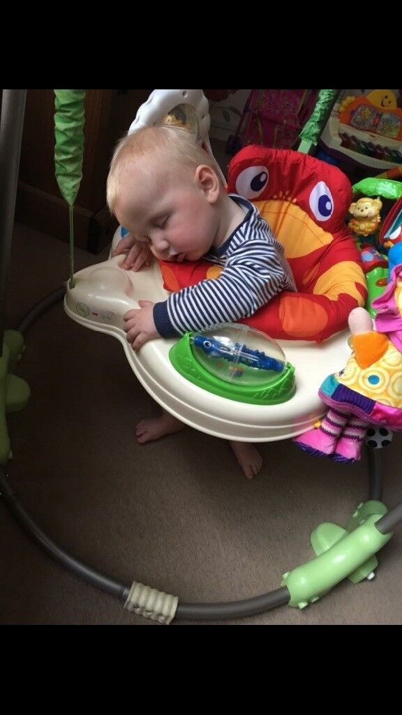 Fisher Price Rainforest Jumperoo -great condition