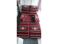 Arabic floor cushion/pillows/Hookah lounge: set of 10