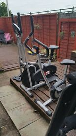 Like new gym equipment. .grab a bargain