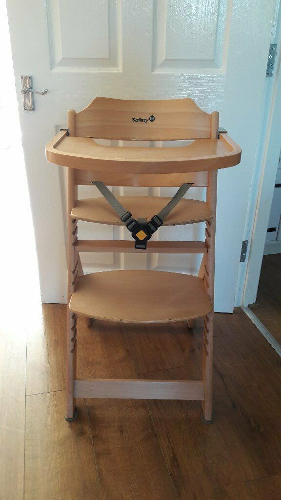 Safety 1st Timba Wooden Highchair In Hull East Yorkshire Gumtree