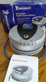 Michelin tyre inflator