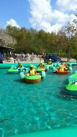 6 x Kids paddle boats for sale, excellent returns commercially or perfect for private pool