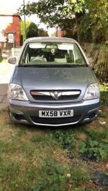 Vauxhall meriva low milage