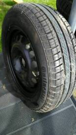 New with New tyre