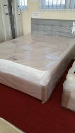 NEW Myer Adams Divine 2 Drawer King Size Bed with Mattress