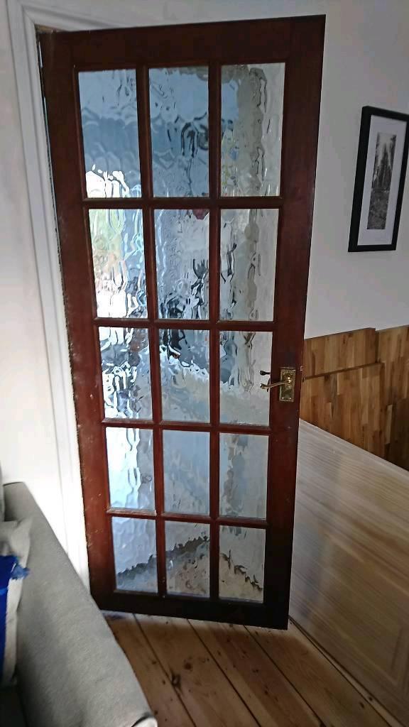 2 Wooden Glass Internal Doors In Bedminster Bristol Gumtree