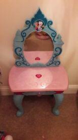 Disney Frozen beauty table.