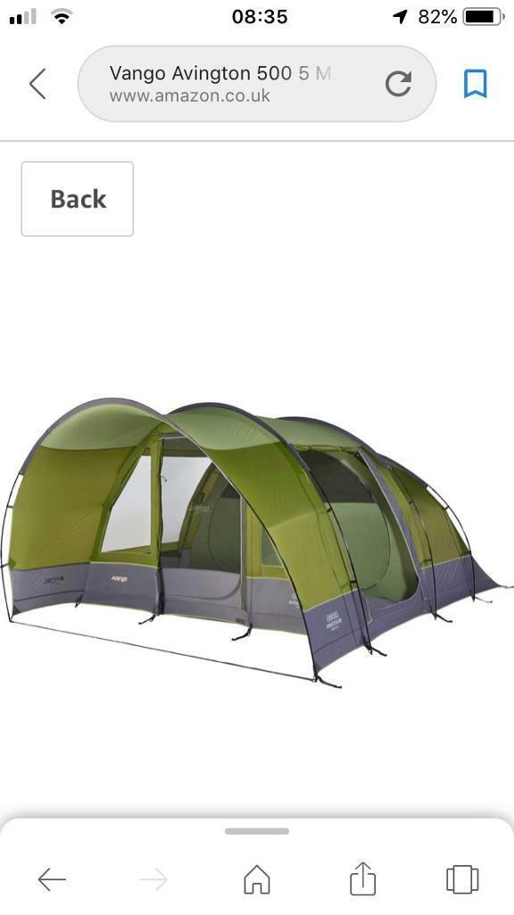 Vango Avington 500 5 Man Tent Unused | in Moortown, West Yorkshire | Gumtree
