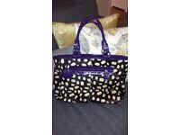 Laura Ashley bag and matching purse