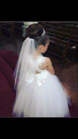 Bridesworld Bespoke Communion Dress