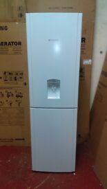 HOTPOINT with water dispenser fridge freezer new ex display