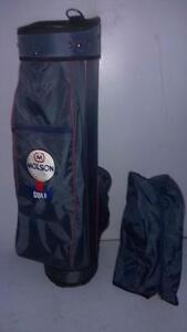 RAMPION Molson Golf Cart Bag 3-Way Top