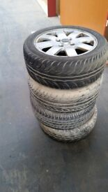 Nissan Primera wheels and tyres