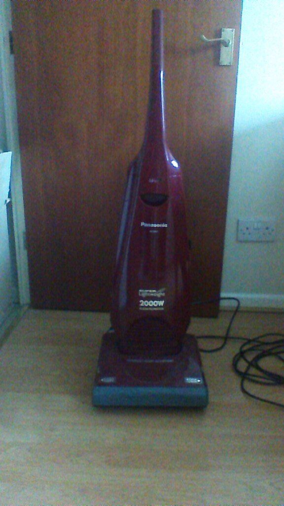 Panasonic upright cleanerin Gowerton, SwanseaGumtree - Powerful upright cleaner with tools and bags. Cleans right up to skirting. Good condition. Can use on wood or carpeted floors