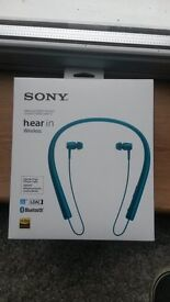 Sony Wireless Sterio Headset with Bluetooth