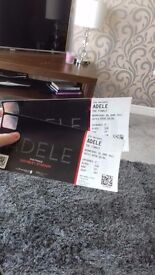 ** 2 ADELE TICKETS FOR SALE 28TH JUNE WEMBLEY STADIUM***