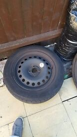 "Wheel 16"" plus tyre"