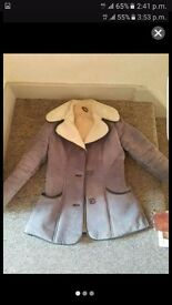 Sheep skin coat