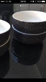 Orla Kiely bowls x 4