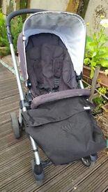 Sola pushchair & Cybex Aton baby's car seat