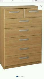 Halingford 5+2 chest of drawers