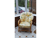 Pair matching conservatory chairs