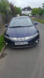 honda civic 2.2cdti for sale £2300