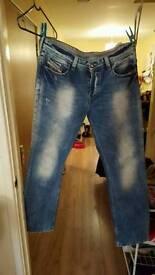 Mens Diesel jeans 36w