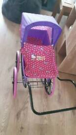 Hello kitty pram