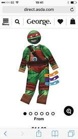 Teenage mutant ninja turtles costume brand new still packaged