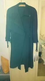 All Saints Aike mac women's coat