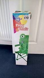 Childrens Frog Chair
