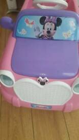 Childs mini mouse electric car