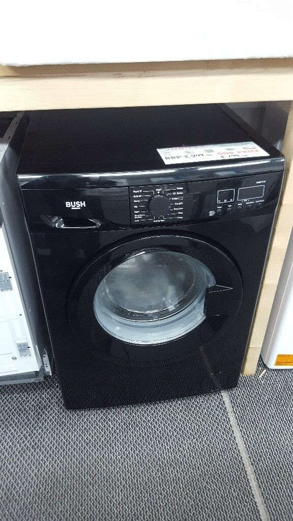 New graded bush black washing machine 8kg for sale in Coventry 12 month warrenty