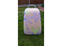Matching small suitcase and backpack ideal for short trips or weekends away