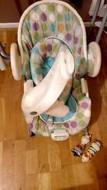 Graco 3 in 1 swing, bouncer and vibrating chair