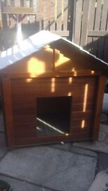 Dog kennel insulated and big enough for a labrador