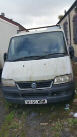 SPARES Fiat ducato 2006 NO KEYS HAVE FULL LOGBOOK