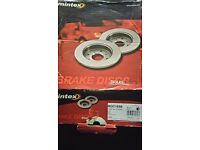 Pair of Mintex MDC 1698 Rear Break discs - Audi / Seat / Skoda / VW
