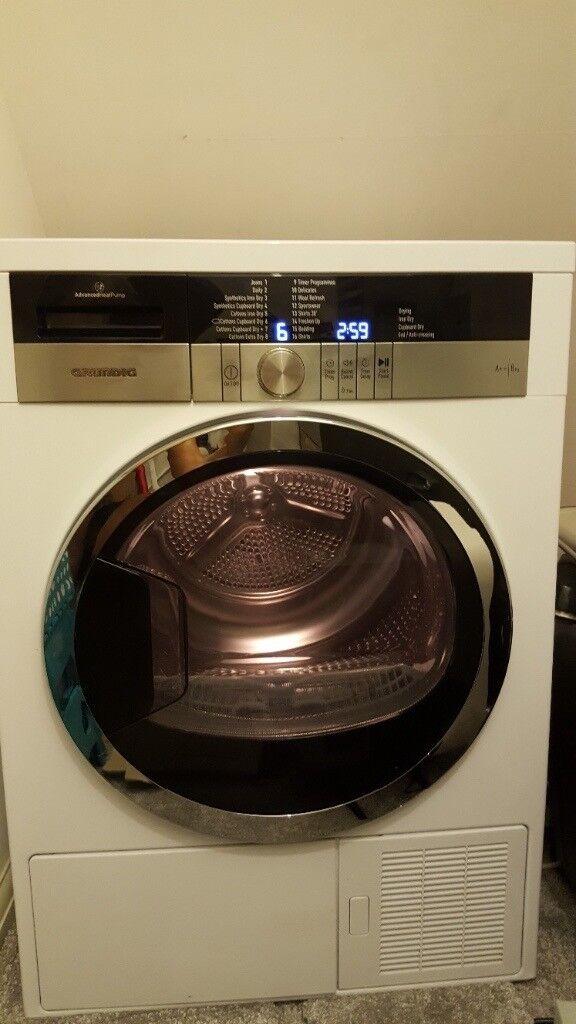 Grundig Heat Pump Sensor Dry 8kg A++ Tumble Dryer