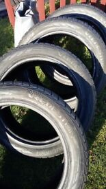 "Winter tyres 20"" 275/45 R20 set of 4 Vredstein Wintrac 4 extreme"
