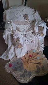 Mothercare Little Stitch Nursery Set
