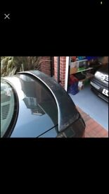 Ford Orion Mk3 Escort Saloon Genuine RS Accessories Rear Boot Spoiler 5051599
