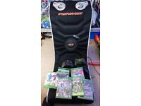 Xbox 1 500gb with gaming chair 7 games 3 controllers £150