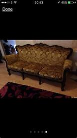 italian 3 piece sofa set