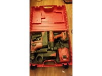 Hilti TE 6-A36 Hammer drill + extras