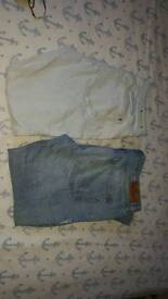 Ladies river island size 16 denims